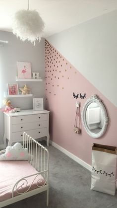 Teen Bedroom Ideas & Develop an area loaded with individual expression, inspired by these teen space suggestions. Whether kid or lady, filter through and find a design that fits. The post Fun and Cool Teen Bedroom Ideas appeared first on Trendy. Girls Room Paint, Girls Bedroom Ideas Paint, Baby Girl Bedroom Ideas, Painting Girls Rooms, Girs Bedroom Ideas, Room Decor For Girls, 4 Year Old Girl Bedroom, Square Bedroom Ideas, Baby Room Paintings
