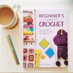 @annabooshouse announced the release of her new #crochet book: Beginner's Guide to Crochet: 20 Crochet Projects for Beginners