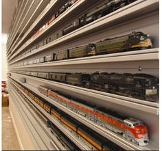 HO Scale Model Train Display Case at Showcase-express.com