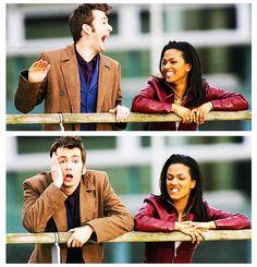 10 and Martha. #DoctorWho