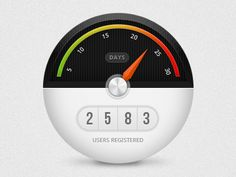 Registered users counter by Ionut Zamfir