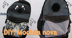 DIY: Mochila nova | Por Vaan Rabelo