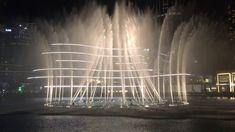Dancing Fountain romantic show in 4K- Dubai 2018