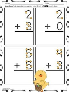 touch math printable worksheets - Yahoo Image Search ...