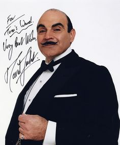 Poirot ~~~ watched his final case yesterday and actually cried.