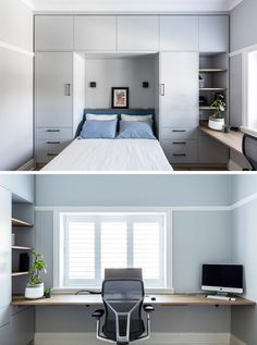 """Modern Built In Cabinets 2021 That's true, contemporary living has imposed itself in practically every facet of our lives, and also it really did not surpass even """" src="""""""" alt="""""""" w. Small Room Design Bedroom, Bedroom Furniture Design, Home Room Design, Home Decor Bedroom, Modern Bedroom, Home Interior Design, Bedroom Ideas, Bedroom Plants, Girls Bedroom"""