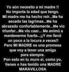 Mi madre.