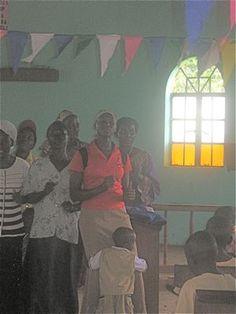 Uganda church worship