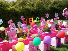 """""""Helga's Hello Kitty Party"""" by Treasures and Tiaras Kids Parties, via Flickr"""