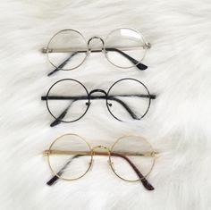 727cf2f1b22 Circle Framed Glasses △ Kozy △ Use  LittleAlien  to get off!