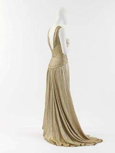 Coco Chanel evening dress, 1934