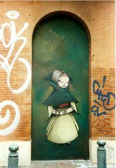 Miss Van #streetart #art
