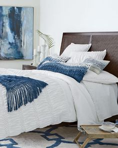 Tristan Queen Bed | Bedrooms, Tall headboard and Night stand
