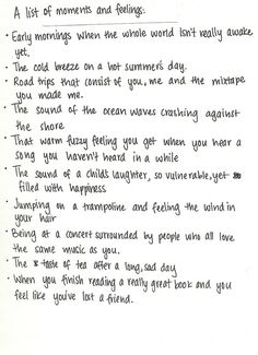 all of these are so good~simple moments are the most perfect