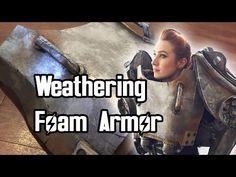 Tips on Weathering Foam Armor [T-60 Power Armor] - YouTube