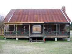 Dogtrot House | Flickr - Photo Sharing! Very similar to home my Atkinson Grandmother lived in for  a while in Tyler County, Texas - scared me - I imagined Panthers running through there at night - lol !