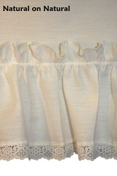 Madelyn Victorian Ruffled Priscilla Window Curtains with Lace Edging and Bow Tie Backs - Window Toppers Ruffle Curtains, Window Curtains, Priscilla Curtains, Window Toppers, Curtain Styles, Curtain Tie Backs, Victorian Fashion, Color Combinations, Lace Shorts