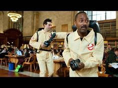 Who You Gonna Call?  More info: http://improveverywhere.com/2010/05/18/who-you-gonna-call/  Facebook page: http://facebook.com/improv.everywhere  For our latest mission, we brought the movie Ghostbusters to life in the reading room of The New York Public Library at 42 Street.  The 1984 movie begins with a scene in the very same room, so we figured it was time for th...