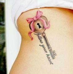 Female Tattoo Key female-tattoos Design Idea - Tattoo Design Ideas