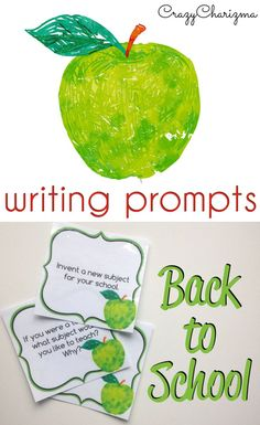 Would you like to have FUN at the end of the school year? Use these Back to School Writing Prompts and engage your students. These cards can be used as Writing Centers in elementary and middle school. Also they are perfect for teens during ESL lessons!   CrazyCharizma