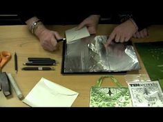 ▶ Ten Seconds Studio- How to use the Ball/Cup Tools while embossing on Metal - YouTube