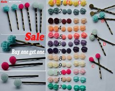 SALE Bobby Pin Buy ONE get ONE Cute Hair Pin in 3 by FindingsDIY, $4.99