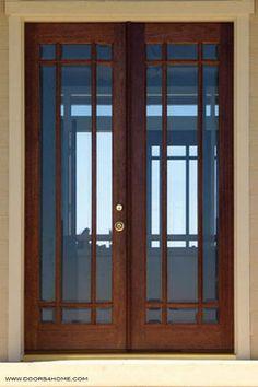 beveled glass french doors | All Products / Floors, Windows & Doors / Doors / Front Doors