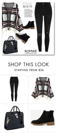 """""""Romwe 4"""" by miincee ❤ liked on Polyvore featuring River Island"""