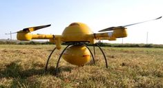While drone delivery heavyweights like Amazon and Google um and ah, and grapple with a maz...