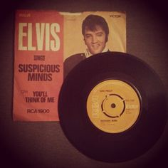 Suspicious Minds / You'll Think of Me by Elvis Presley, 1969, 45rpm