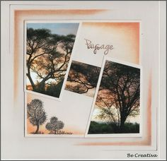 blog de Be Creativa - Coucher de soleil