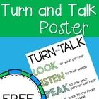 Tips to help you and your students when Turning and Talking during sharing time!...
