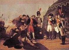 Antoine-Jean Baron Gros - Napoleon accepts the surrender of Madrid, 4 December 1808