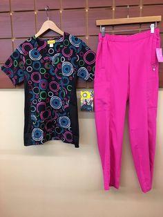 1bc11e28bc5 NEW Pink Print Scrubs Set With Wink XS Top & Vera Bradley XS Petite Pants  NWT #fashion #clothing #shoes #accessories #uniformsworkclothing #scrubs  (ebay ...
