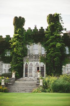 Luttrellstown Castle, located in Clonsilla on the outskirts of Dublin, Ireland.