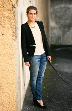 Clochet   Zara zipper jacket