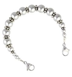 Promenade Medical ID Bracelet with Gardenia Medical ID Tag