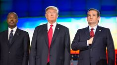 Who won the 8th Republican ABC debate at St. Anselm College Goffstown in New Hampshire?