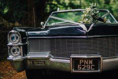 Cadillac Car Transport Monmouth Priory Wedding Loveseen Photography #Cadillac #WeddingCar #WeddingTransport #Wedding