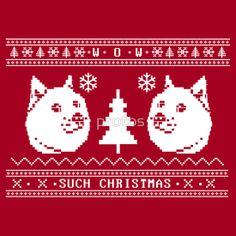 Doge Christmas Ugly Sweater