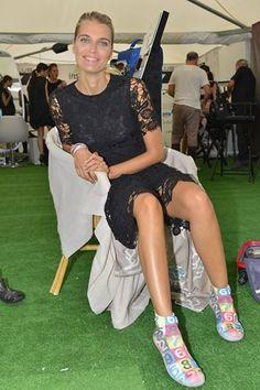 Claudia Zanella indossa le Akkua R'Evolution FreeTime NewYork! #Venezia71 #festivaldelcinema #barefoot