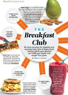 The Breakfast Club weightloss-and-nutrition-tips Get Healthy, Healthy Tips, Healthy Snacks, Healthy Recipes, Paleo Food, Paleo Diet, Salad Recipes, Great Breakfast Ideas, The Breakfast Club