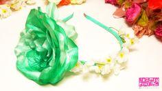 #flowercrown #floral #headband #flores #crown #romantic #flower #fashion #accesories #fashionista #mode #woman #hair #spring #summer