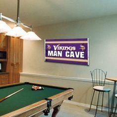 Minnesota Vikings 3' x 5' Man Cave Flag