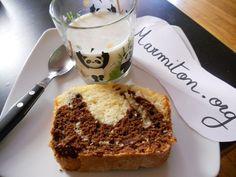 Recette Gâteau marbré au yaourt facile Avec Gianni nous avons mis un yaourt au lait de brebis à la place et du chocolat en poudre milka!