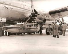 KLM Historie :: Onderwerp bekijken - Speedpak op de Constellations.