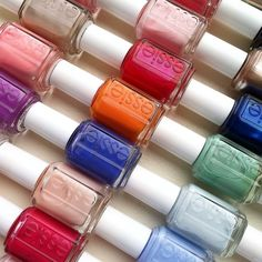 You can never have too many pairs of shoes or too many shades of essie.