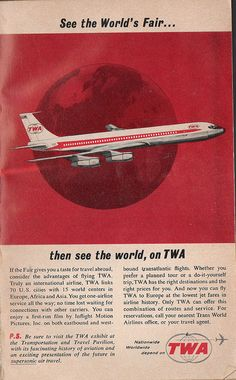TWA Ad by Drive-In Mike, via Flickr