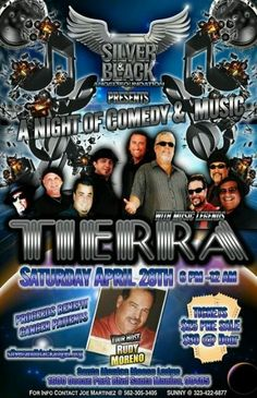 April 28th ....A night of Comedy & Music