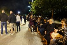 10/16/2016 - Continuing Tremors Force Ioannina Citizens to Spend Night Outdoors